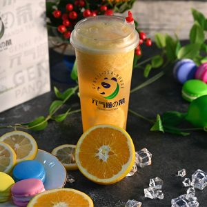 orange-green-tea